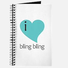 i heart bling bling Journal