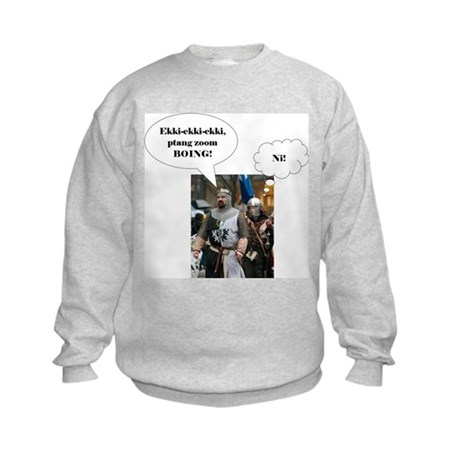 Knights Who Say Kids Sweatshirt