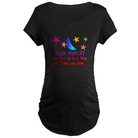 Respiratory Therapy 8 Maternity Dark T-Shirt