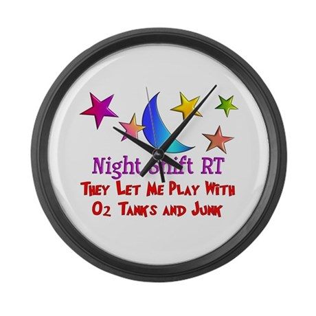 Respiratory Therapy 8 Large Wall Clock