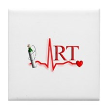 Respiratory Therapy 8 Tile Coaster