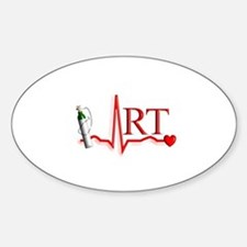 Respiratory Therapy 8 Sticker (Oval)