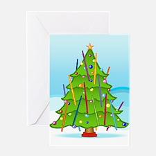 Flute Christmas Greeting Card