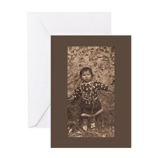 Baby Apsaroke Greeting Card