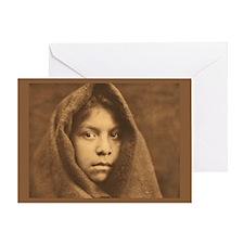 Makah Maiden Greeting Card