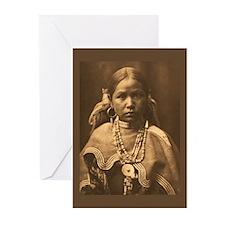 Jicarilla Maiden Greeting Cards (Pk of 20)
