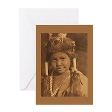 Klamath Child Greeting Card