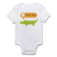 Alligator Dental Hygienist Infant Bodysuit