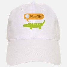 Alligator Dental Hygienist Baseball Baseball Cap