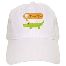 Alligator Dental Hygienist Baseball Cap