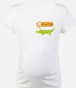 Alligator Dental Hygienist Shirt