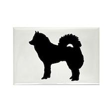 Eurasian dog Rectangle Magnet