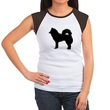 Eurasian dog Women's Cap Sleeve T-Shirt