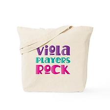 Viola Players Rock Tote Bag