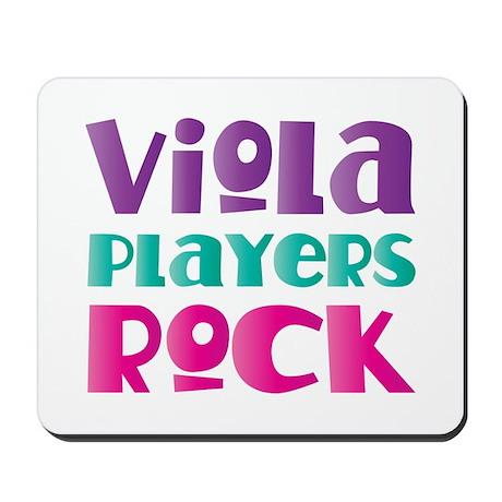 Viola Players Rock Mousepad