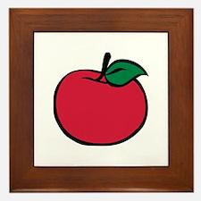 Apple Framed Tile