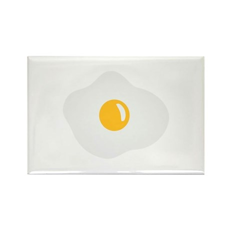 Fried egg Rectangle Magnet (100 pack)