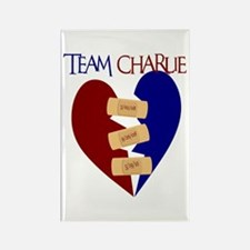 Team Charlie Walk Shirts Rectangle Magnet