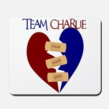 Team Charlie Walk Shirts Mousepad
