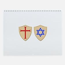 Cute Crusaders Wall Calendar
