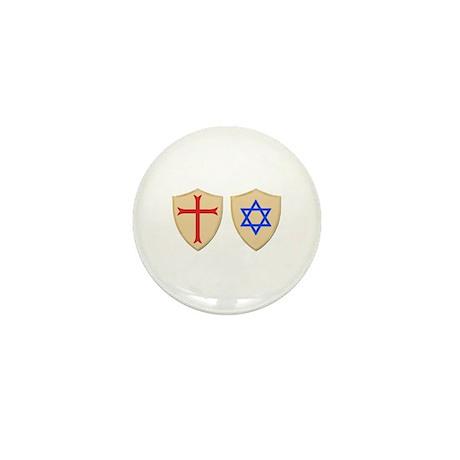 Zionist Crusader Mini Button (100 pack)