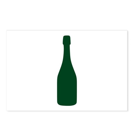 Champagne Postcards (Package of 8)