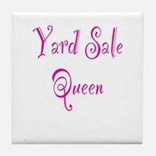 Yard Sale Queen Tile Coaster