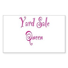 Yard Sale Queen Decal