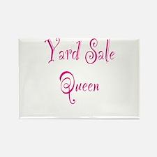 Yard Sale Queen Rectangle Magnet