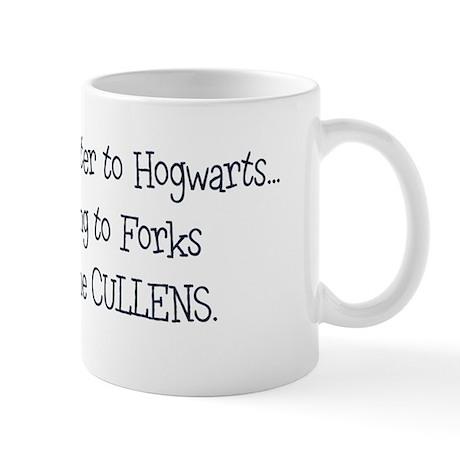 Moving to Forks Mug