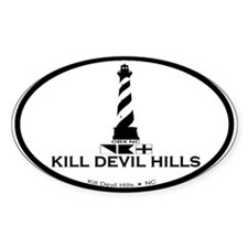 Kill Devil Hills NC - Lighthouse Design Decal