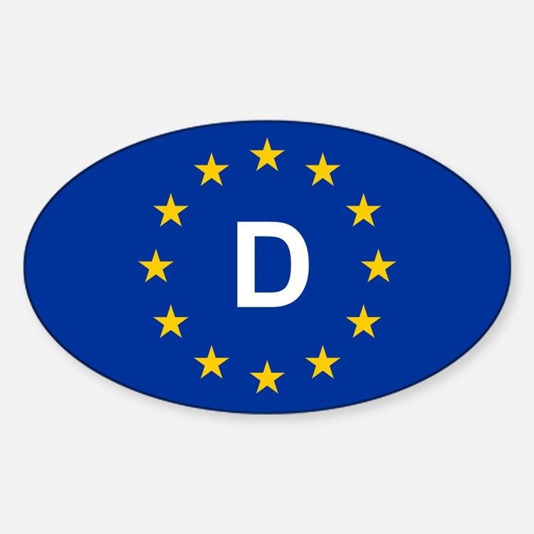 EU Germany Decal