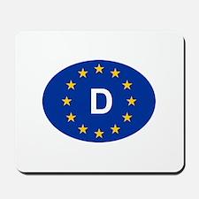 EU Germany Mousepad