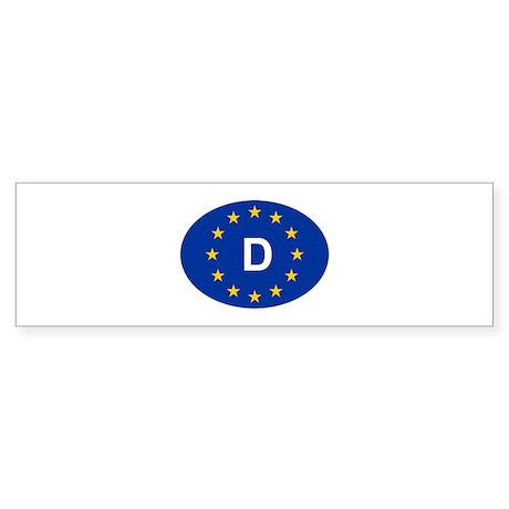 EU Germany Sticker (Bumper)