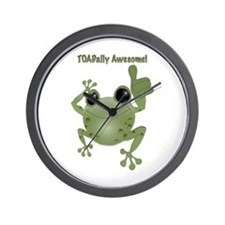 Toadally Awesome! Wall Clock