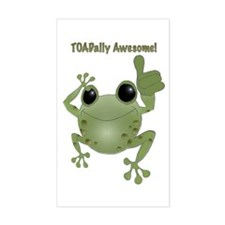 Toadally Awesome! Decal
