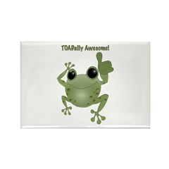 Toadally Awesome! Rectangle Magnet