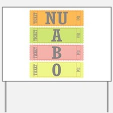 f(x) NU ABO Yard Sign