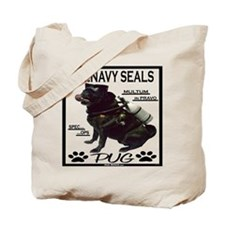 Cute Seal teams Tote Bag