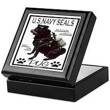 Funny Seal team six Keepsake Box