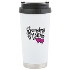 Grandma of Twins Travel Mug