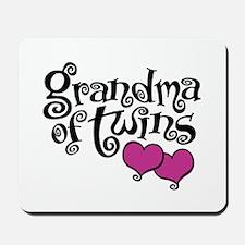 Grandma of Twins Mousepad