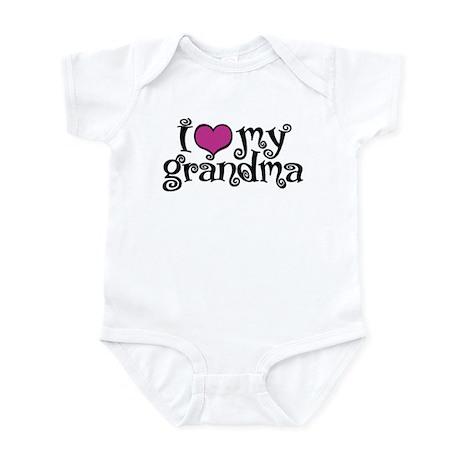 I Love My Grandma Infant Bodysuit
