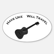 Have Uke, Will Travel Decal