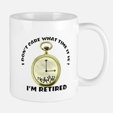 I'm Retired Small Mugs