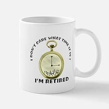 I'm Retired Small Small Mug