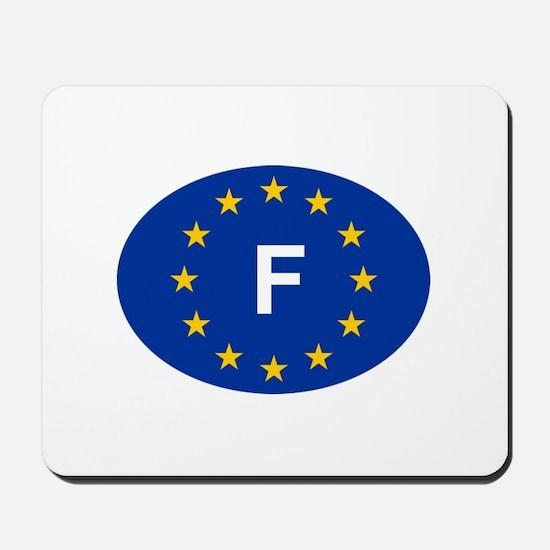 EU France Mousepad