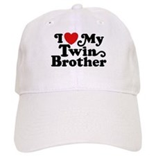 I Love My Twin Brother Baseball Cap