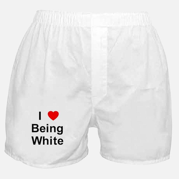Cute White pride Boxer Shorts