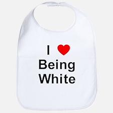 Unique White pride Bib